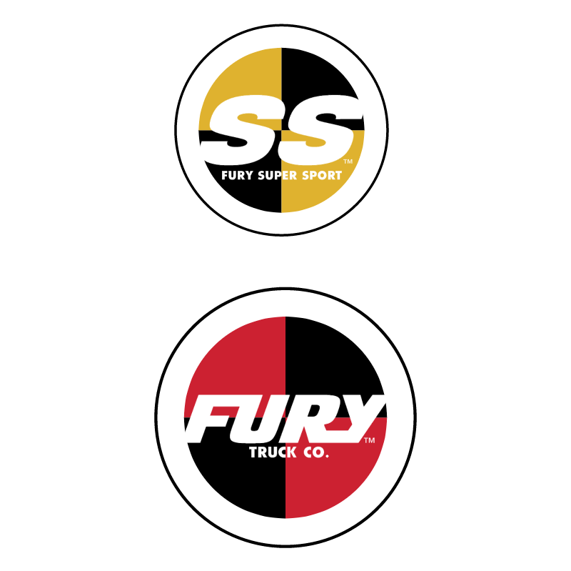 Fury Skateboard Trucks vector