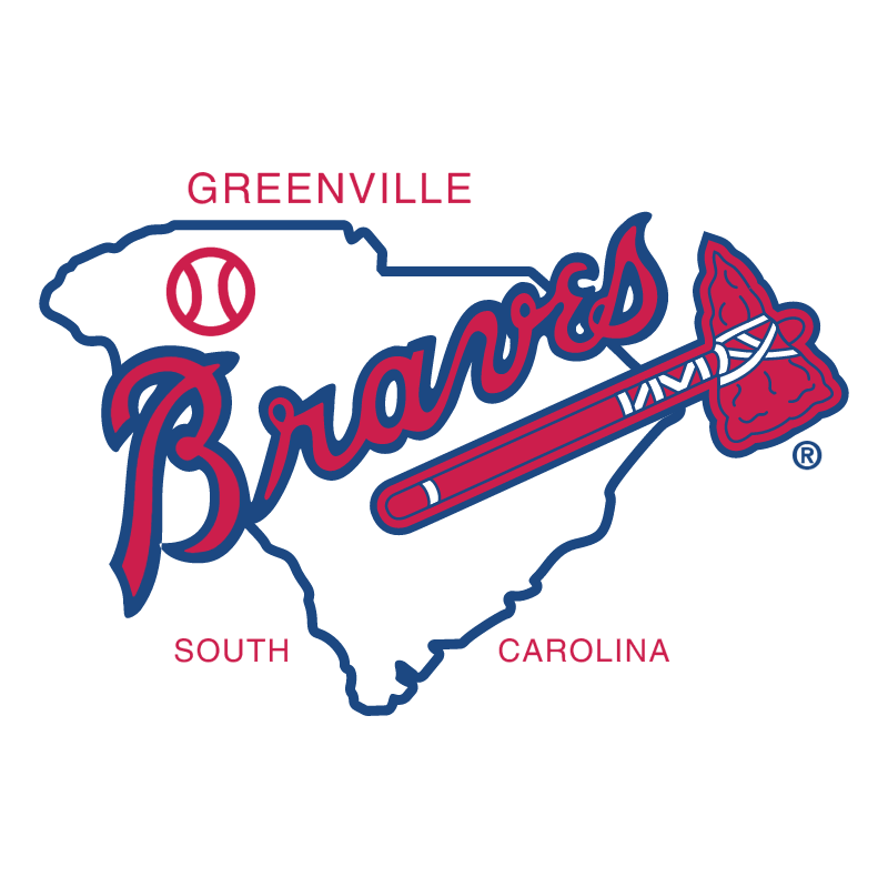 Greenville Braves vector
