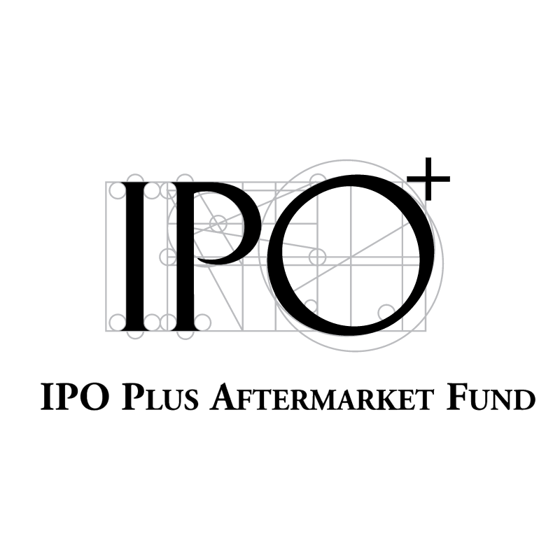 IPO Plus Aftermarket Fund vector logo