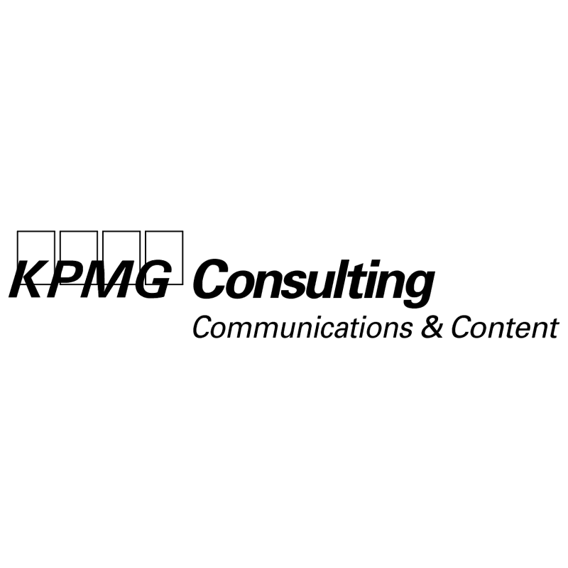 KPMG Consulting vector