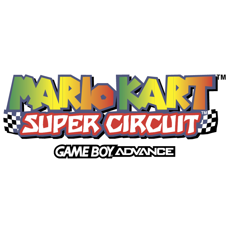 Mario Kart Super Circuit vector