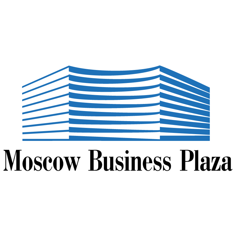 Moscow Business Plaza vector