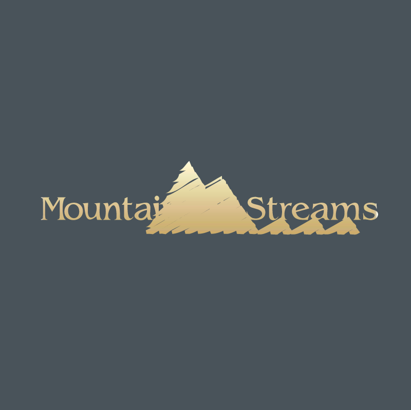 Mountains & Streams vector