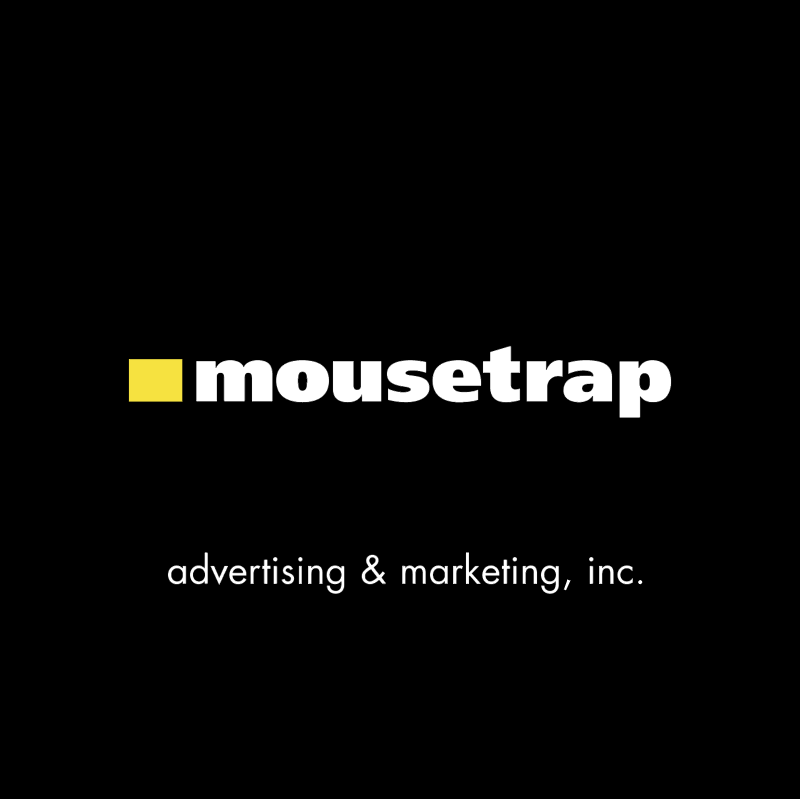 Mousetrap vector logo
