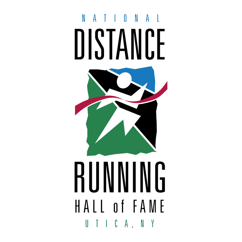 National Distance Running Hall of Fame vector logo