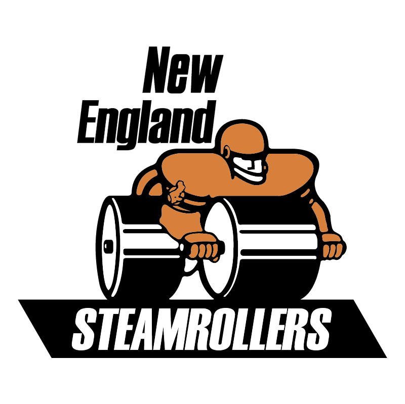 New England Steamrollers vector logo