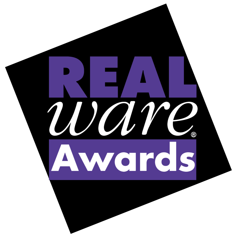 Real Ware Awards vector logo