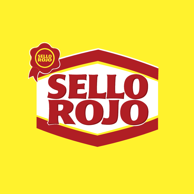 Sello Rojo vector