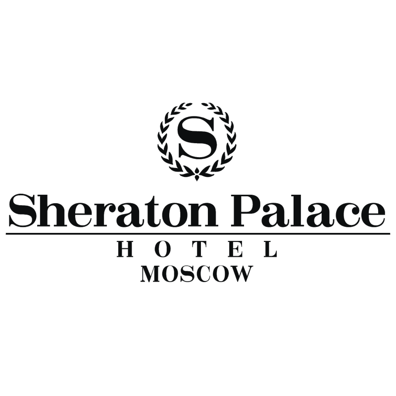 Sheraton Palace Hotel Moscow vector