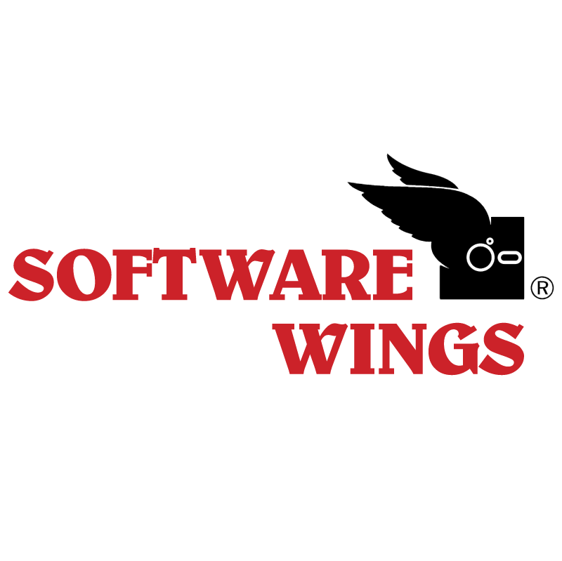 Software Wings vector