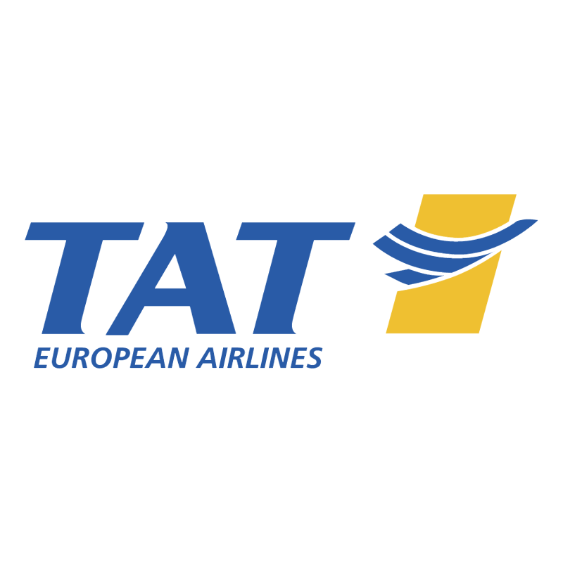 TAT European Airlines vector logo