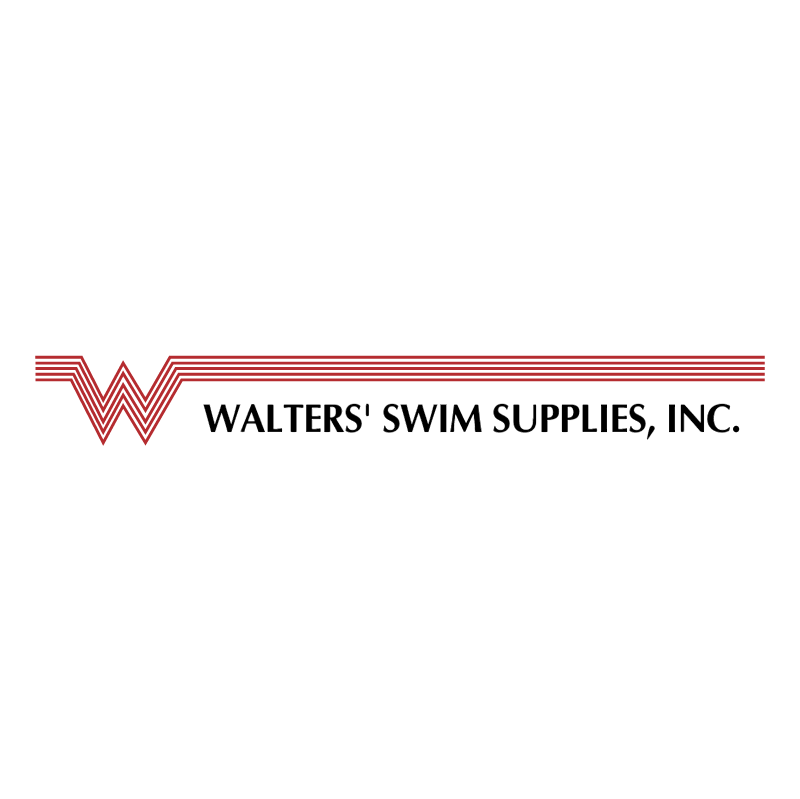 Walters' Swim Supplies vector