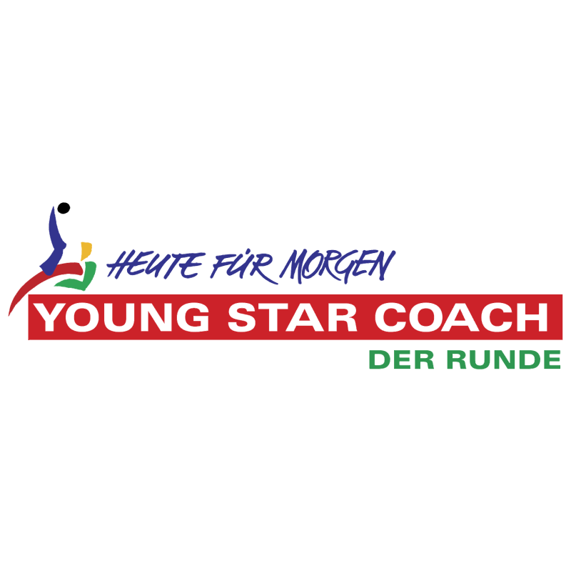 Young Star Coach Der Runde vector