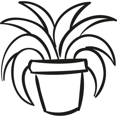 Garden Plant In a Pot logo