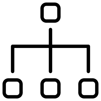 Scheme with Three Connections logo