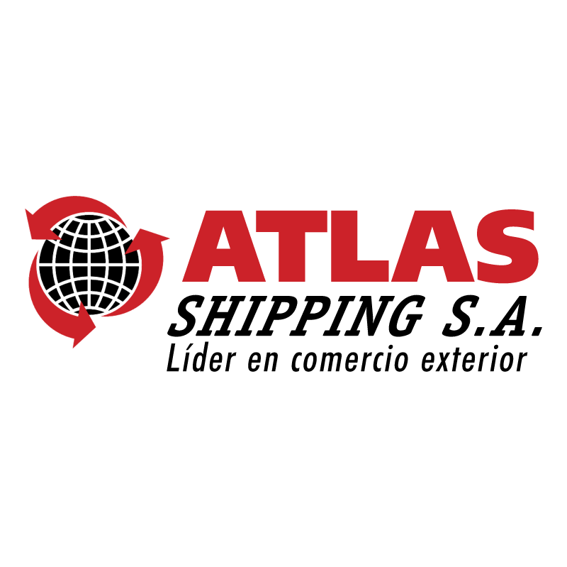 Atlas Shipping 87615 vector logo