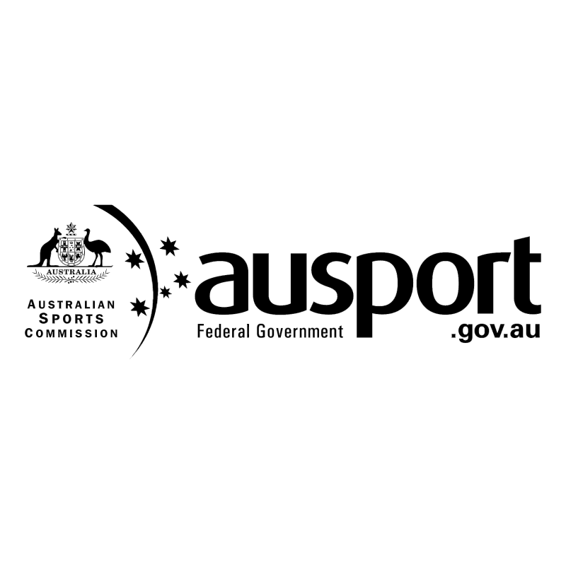 Ausport Federal Government vector logo