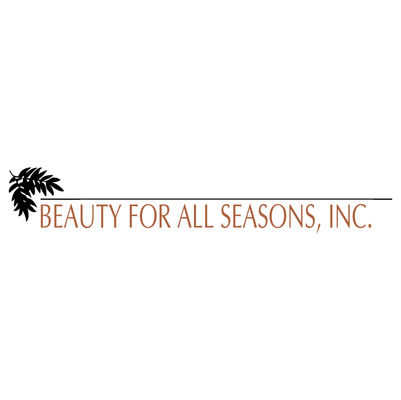 Beauty For All Seasons vector