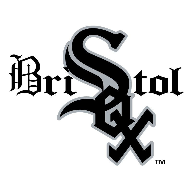 Bristol White Sox 58756 vector