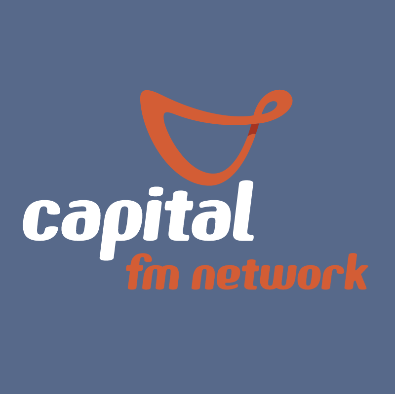 Capital fm network vector logo