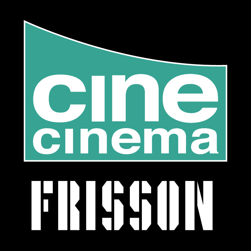 Cine Cinema Frisson vector logo