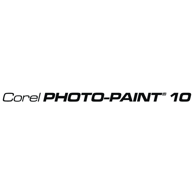 Corel Photo Paint 10 vector