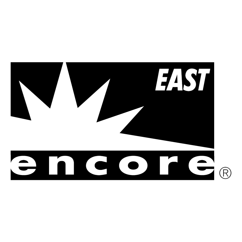 Encore East vector logo