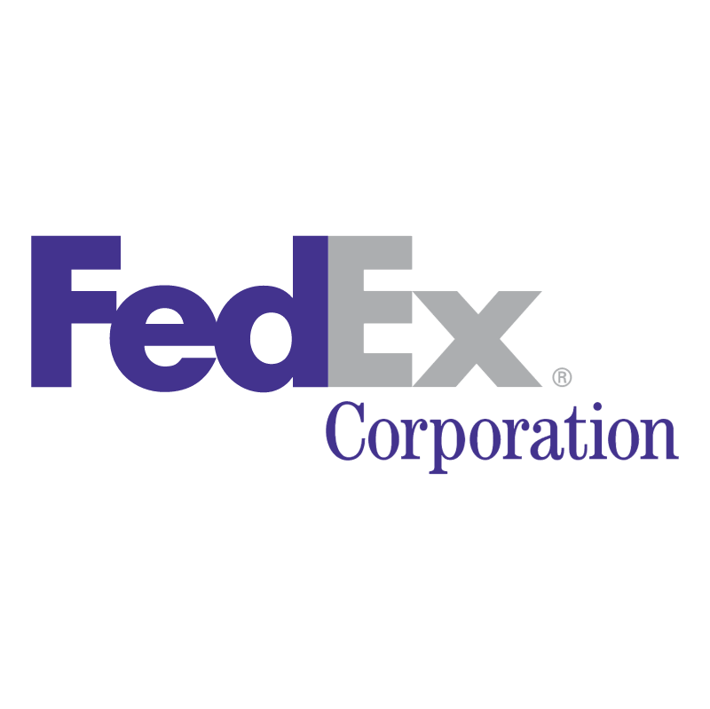 FedEx Corporation vector logo