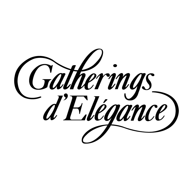 Gatherings d'Elegance vector
