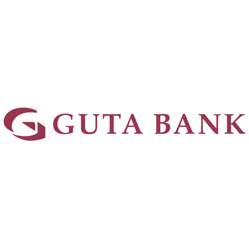Guta Bank vector logo