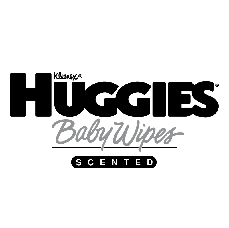 Huggies Baby Wipes vector