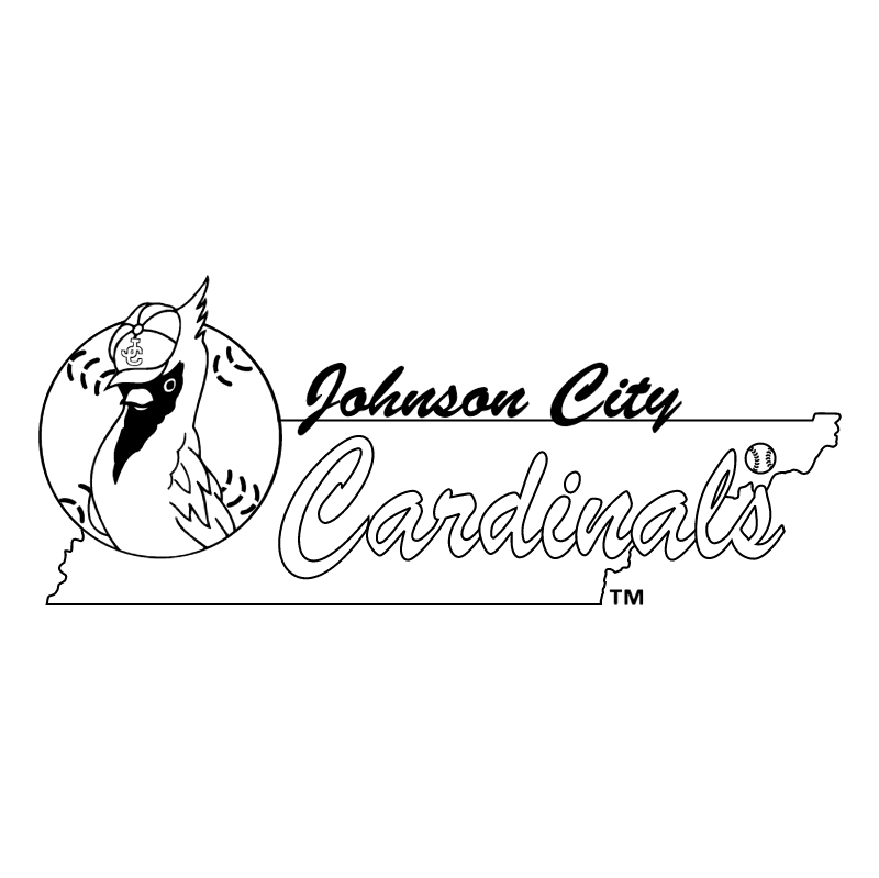 Johnson City Cardinals vector