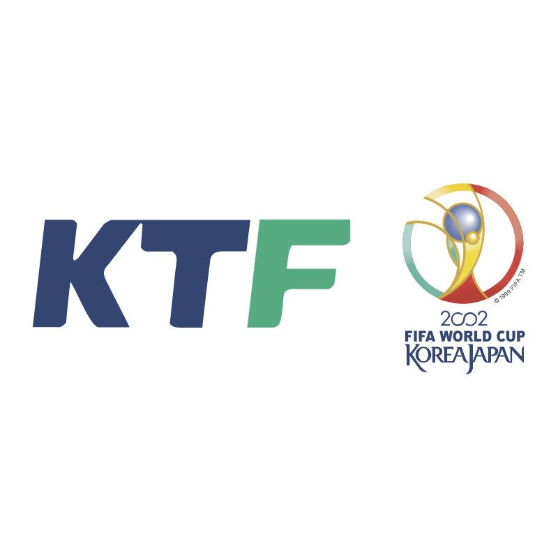 KTF 2002 World Cup Official Partner vector logo