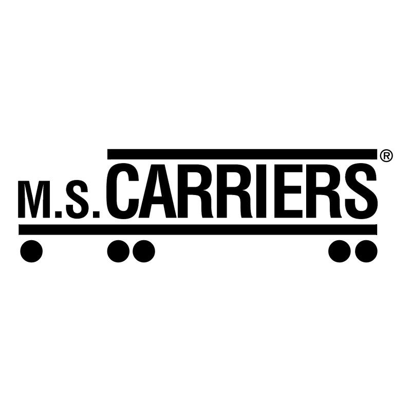 M S Carriers vector logo