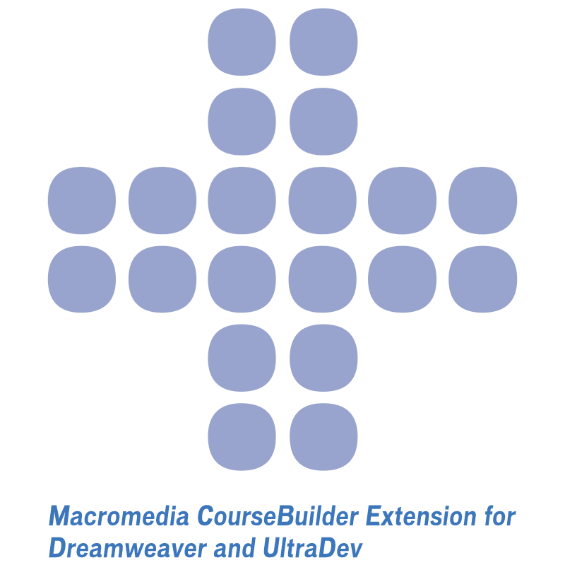 Macromedia CourseBuilder Extension vector