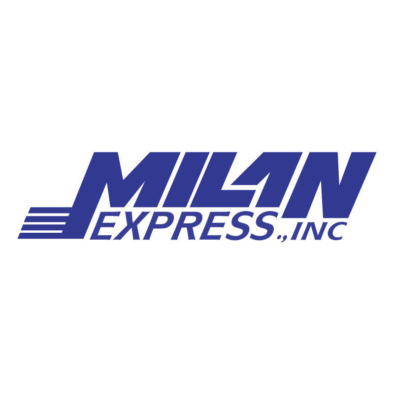 Milan Express Transportation vector logo