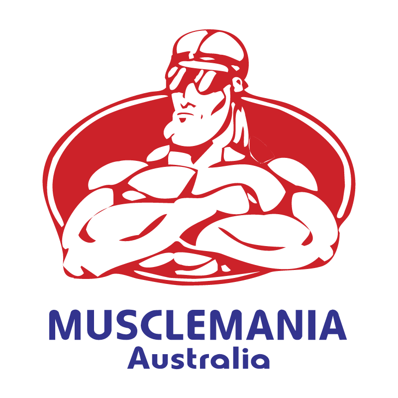 Musclemania Australia vector