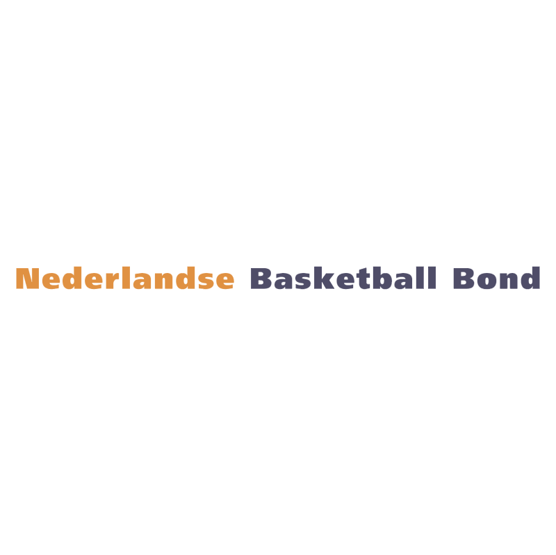 Nederlandse Basketball Bond vector