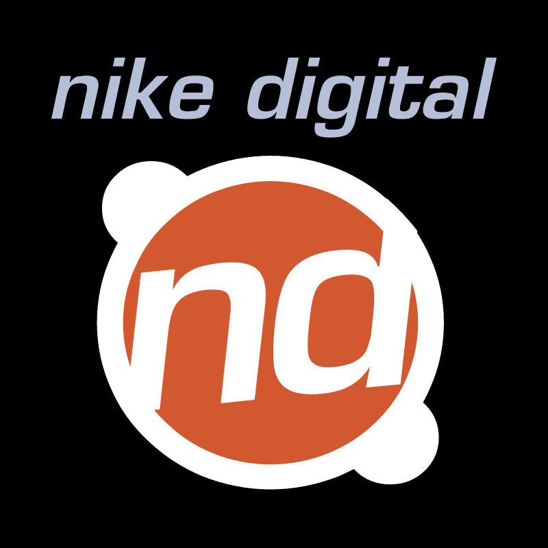 Nike Digital vector logo