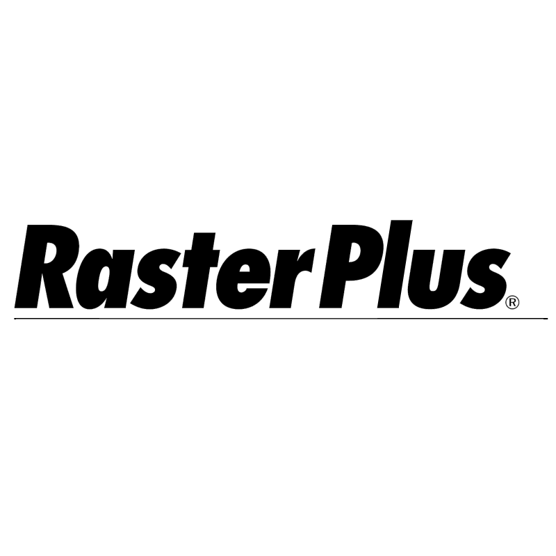 RasterPlus vector logo