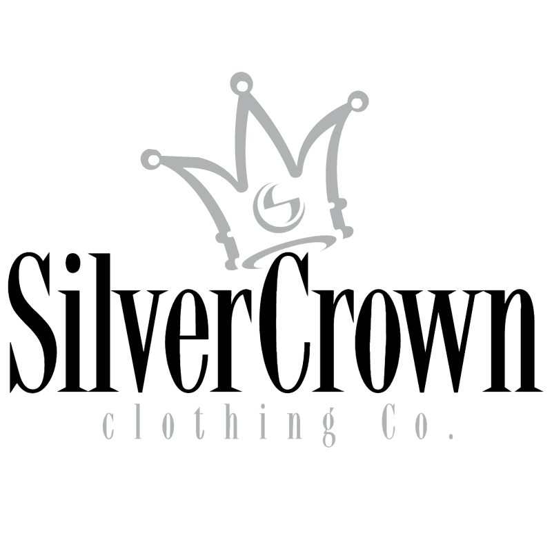 Silver Crown Clothing vector logo