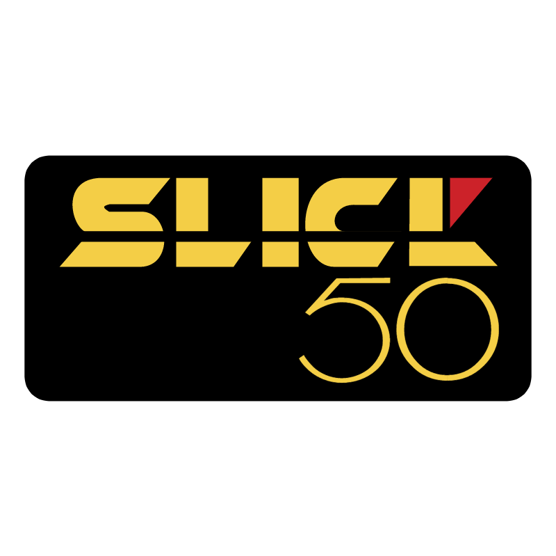 Slick 50 vector logo