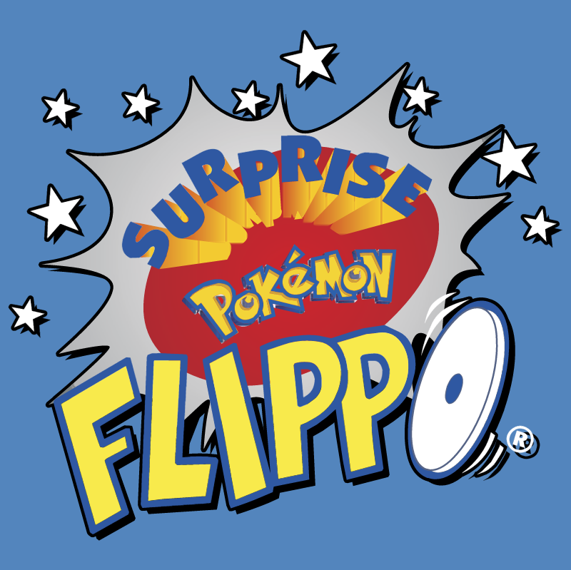 Surprise Pokemon Flippo vector