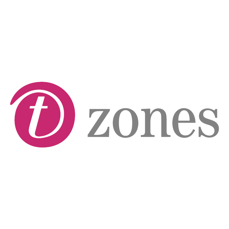 T zones vector logo