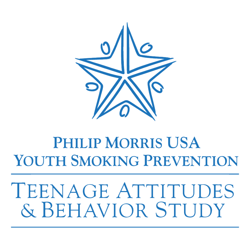 Teenage Attitudes & Behavior Study vector logo