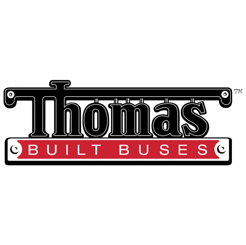 Thomas Built Buses vector