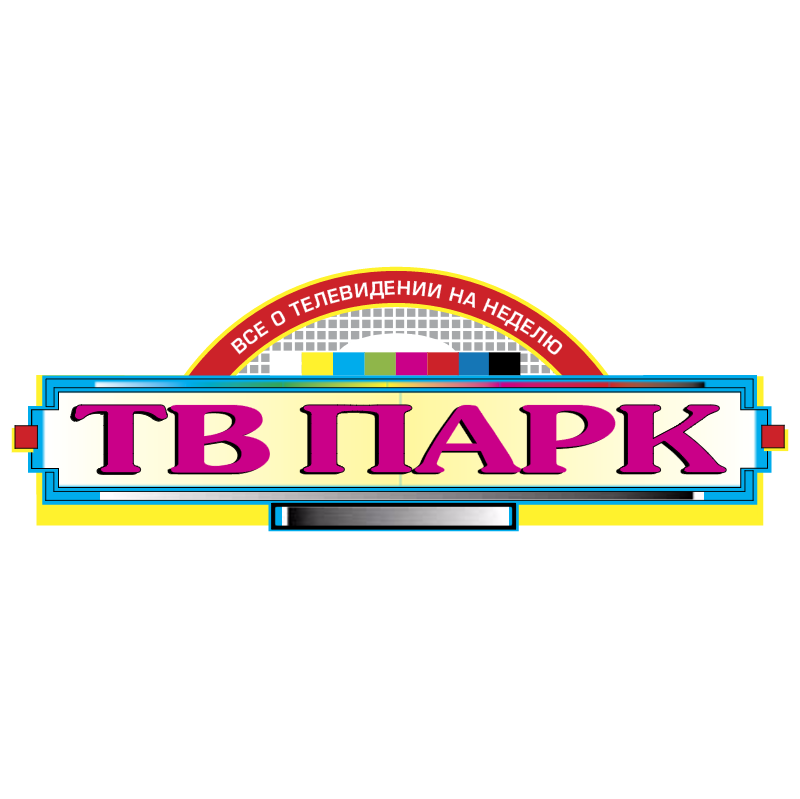 TV Park vector logo