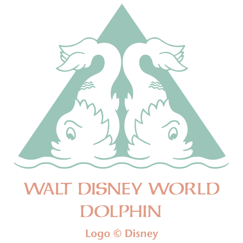 Walt Disney World Dolphin vector