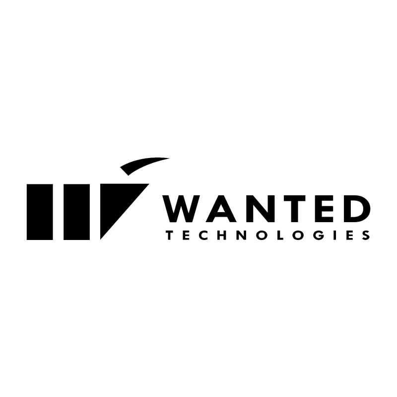 Wanted Technologies vector logo