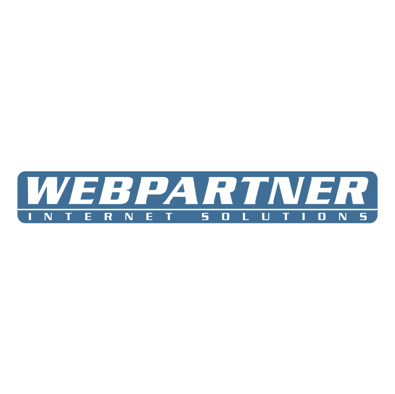 Webpartner vector logo